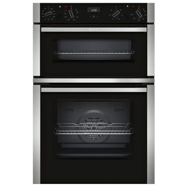 Neff N50 Built-in Double Oven – Stainless Steel
