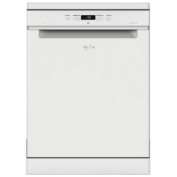 Whirlpool Supreme Clean Free Standing Dishwasher – White WFC3C24P