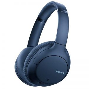 Sony Bluetooth Headphones with Noise Cancelling – Blue
