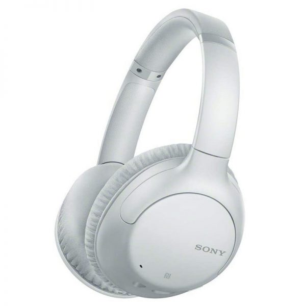 Sony Bluetooth Headphones with Noise Cancelling – White