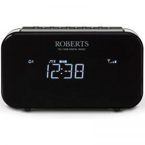 Roberts DAB+ / FM Cloack Radio – Black