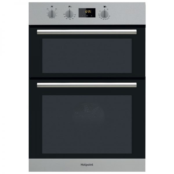 Hotpoint Built In Double Oven – Stainless Steel