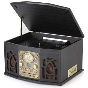 Itek Classic 5 in 1 Music System – Dark Wood