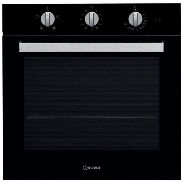 Indesit Aria Single Built In Oven – Black