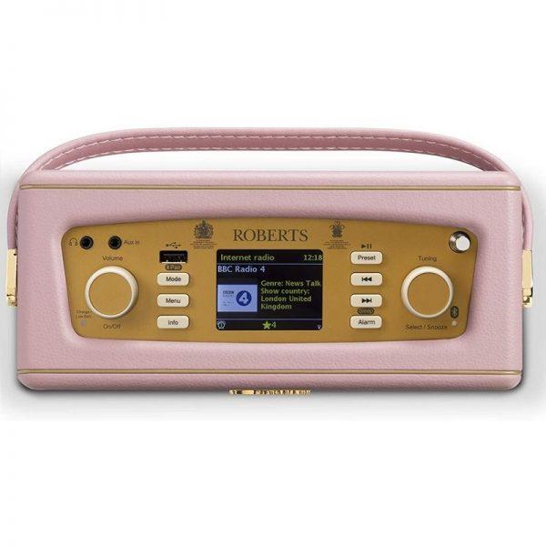 Roberts Revival iStream 3 DAB+ / FM / Internet Radio with Bluetooth – Dusty Pink
