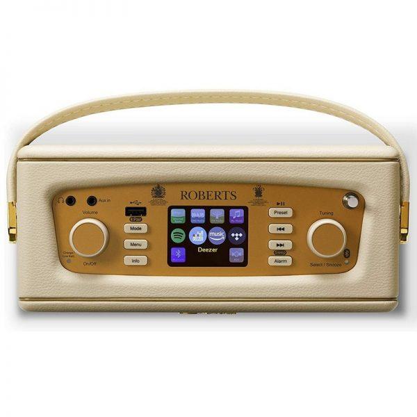 Roberts Revival iStream 3 DAB+ / FM / Internet Radio with Bluetooth – Pastel Cream