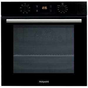 Hotpoint Class 2 Built In Single Oven – Black ¦ SA2540HBL