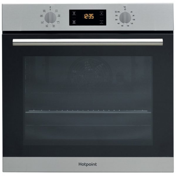 Hotpoint Class 2 Built In Single Oven – Stainless Steel
