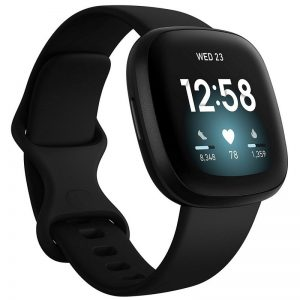 Fitbit Versa 3 Fitness Smart Watch – Black