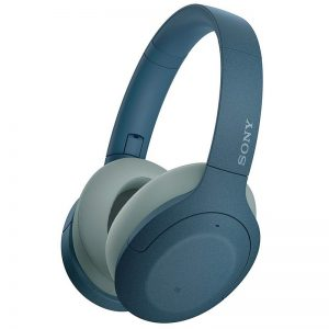 Sony h.ear Hi-Res Bluetooth Headphones with Noise Cancelling – Blue