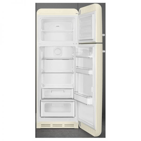 Smeg Retro 70/30 Fridge Freezer- Cream