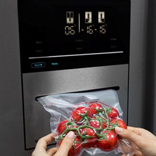 Nordmende 4 Door American Vacuum Fridge Freezer – Black