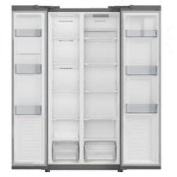 Servis American Style Fridge Freezer – Stainless Steel