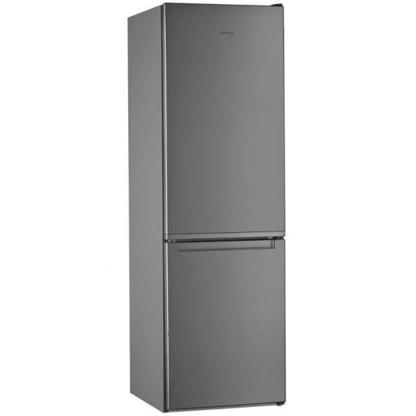 Whirlpool 6th Sense 60CM 60/40 Fridge Freezer – Silver