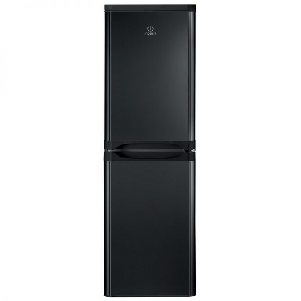 Indesit 50/50 Fridge Freezer – Black