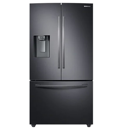 Samsung French Style Plumbed Fridge Freezer – Black