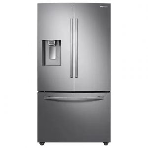 Samsung French Style Plumbed Fridge Freezer – Silver RF23R62E3SR
