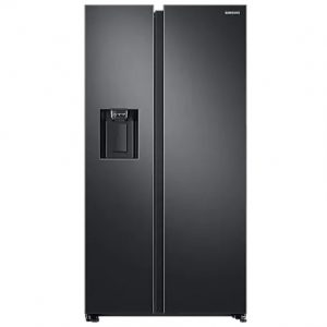 Samsung Spacemax American Plumbed Fridge Freezer – Black