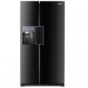 Samsung H-Series American Plumbed Fridge Freezer – Black