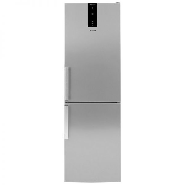 Whirlpool 6th Sense 60CM Frost Free Fridge Freezer – Stainless Steel