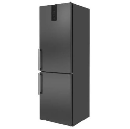 Whirlpool 60CM Frost Free Fridge Freezer – Black