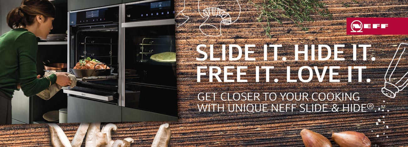 Cooking with Neff Slide & Hide