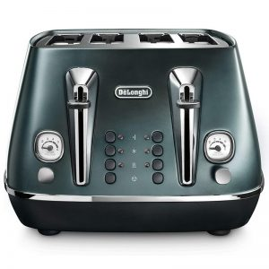 DeLonghi Distinta Flair Toaster Allure Green