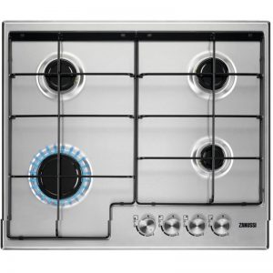 Zanussi 60cm Gas Hob – Stainless Steel