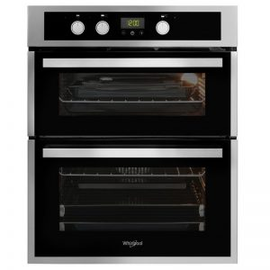 Whirpool Built In Double Oven – Stainless Steel