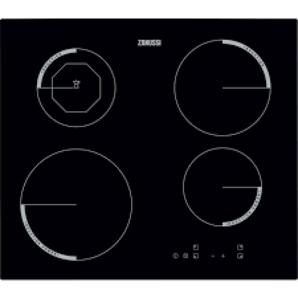 Zanussi 60cm 4 Zone Induction Hob