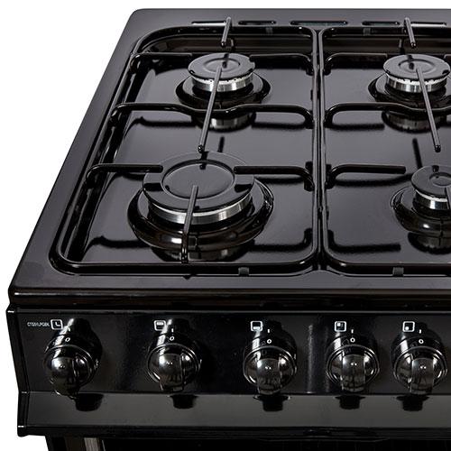 Nordmende 50cm LPG Gas Cooker – Black