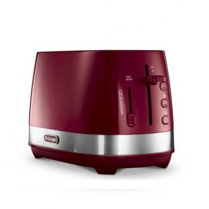 DeLonghi ACTIVELINE RED 2-SLICE TOASTER CTLA2003.R