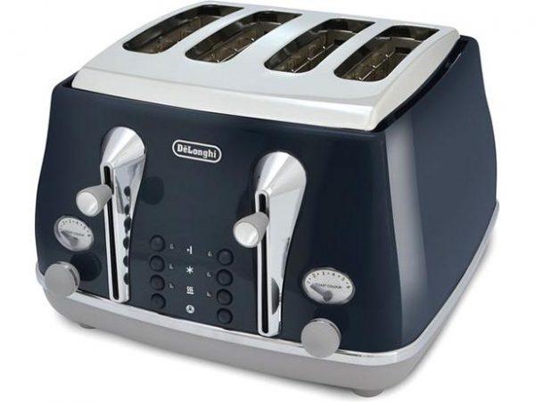 DeLonghi Icona Capitals Toaster Blue CTOC4003.BL