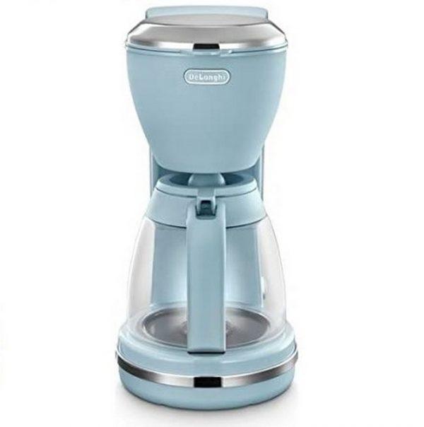 DeLonghi Filter Coffee machine ICMX210AZ Flora Blue