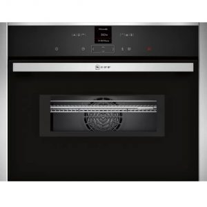Neff Built In Single Combi Oven / Microwave – Stainless Steel
