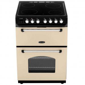 Rangemaster 60CM Double Cavity Cooker with Ceramic Hob – Cream