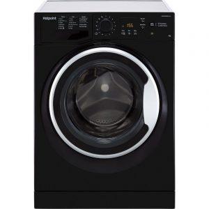 Hotpoint 7KG 1400 Spin Washing Machine – Black