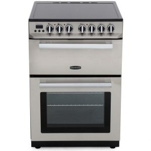 Rangemaster Professional+ 60CM Cooker with Ceramic Hob – Stainless Steel