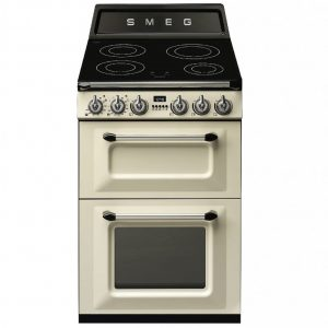Smeg 60CM Cooker with Induction Hob – Cream