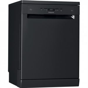 Hotpoint Freestanding Dishwasher – Black