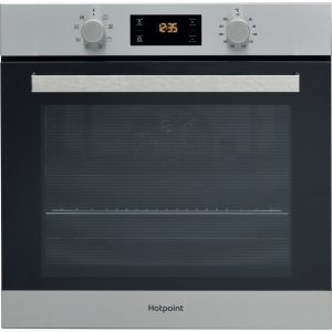 Hotpoint Built In Single Oven – Stainless Steel