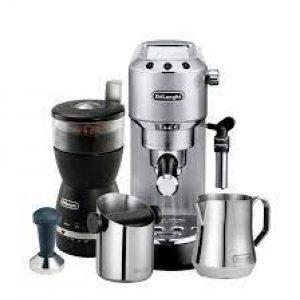 DeLonghi Dedica ECKG6820.M Coffee Machine Bundle
