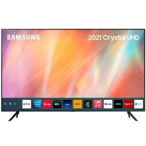 Samsung AU7100 55″ 4K Ultra HD HDR LED Smart TV UE55AU7100KXXU